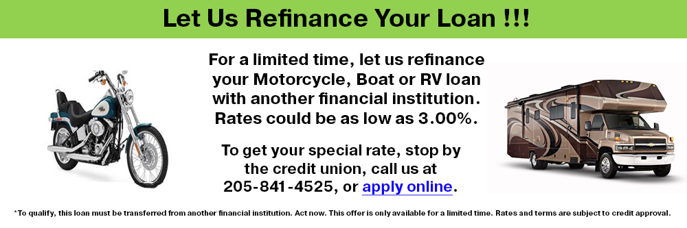 Fall special. Pay off credit cards with a 12 month loan with rates as low as 7.99% apr.